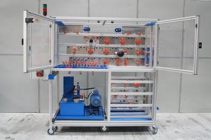 Platine hydraulique sécurisée