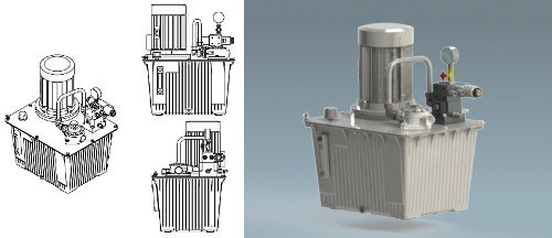 Centrale HydrOptimum 3D