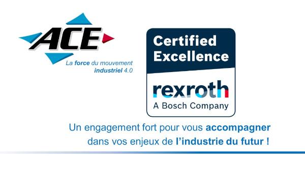 Engagement renforcé entre Rexroth Bosch et ACE !