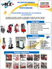 Filtration mobile et stationnaire