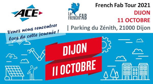 Venez nous rencontrer nous recrutons lors de French Fab Tour 2021 DIJON