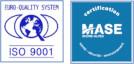 Logo ISO 9001 et MASE