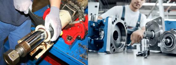 Réparations de composants techniques