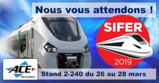 Venez découvrir les innovations techniques au salon SIFER 2019 de Lille !