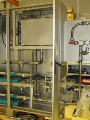 Armoire de lubrification et de pulvérisation
