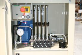 Système hydraulique en armoire
