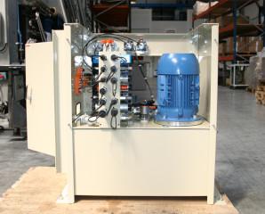 Système hydraulique speciaux blocs forés accu 4